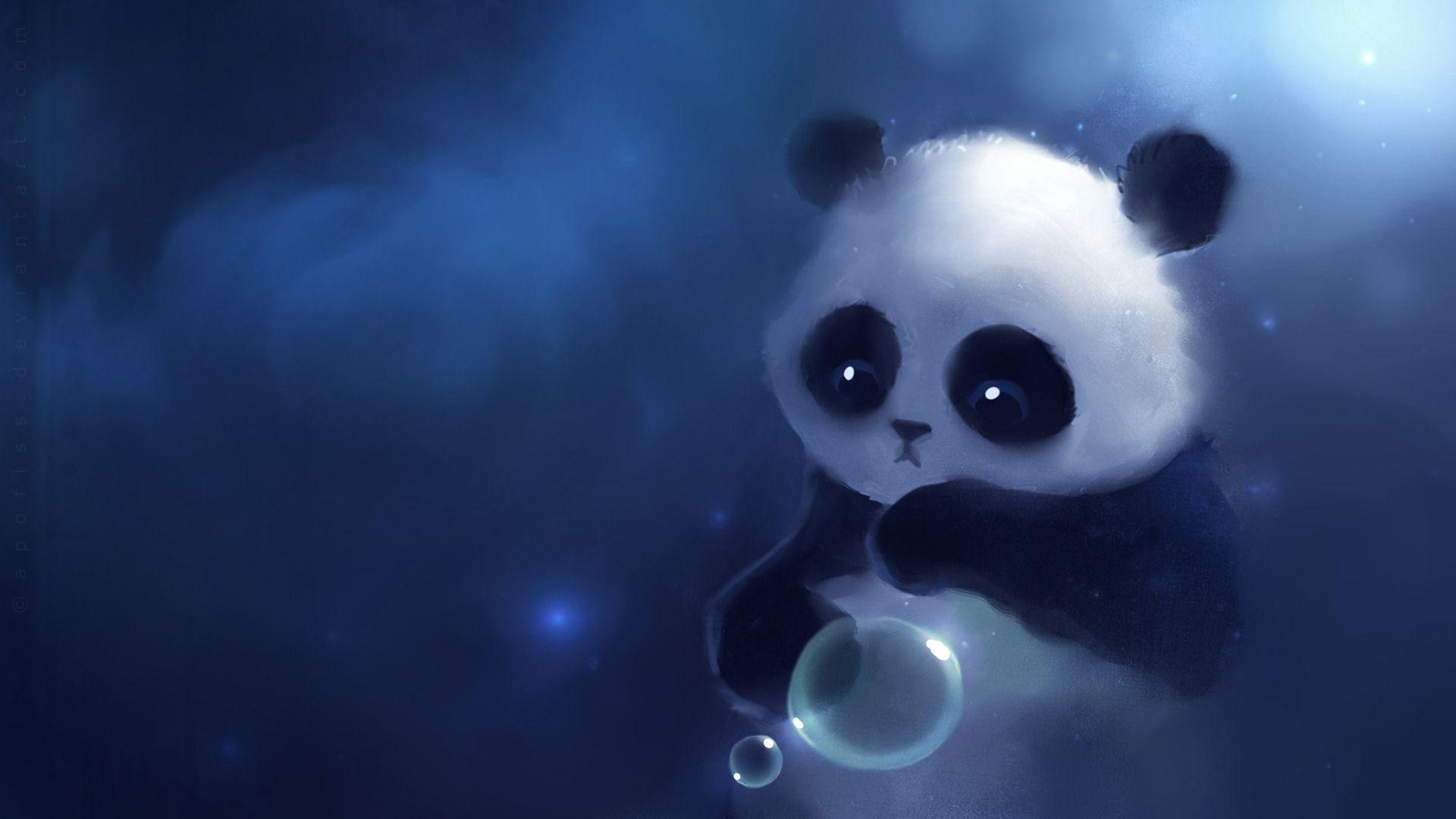 Wallpapers For > Cute Panda Wallpapers For Desktop