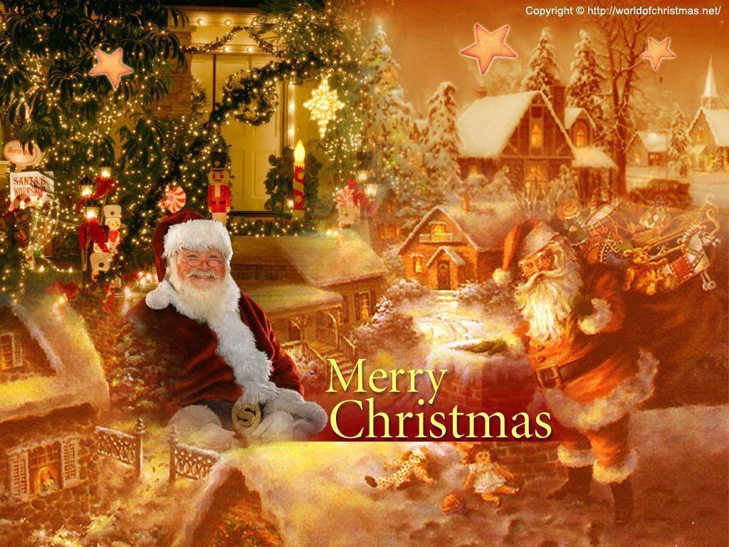 Christmas Screensavers And Wallpapers