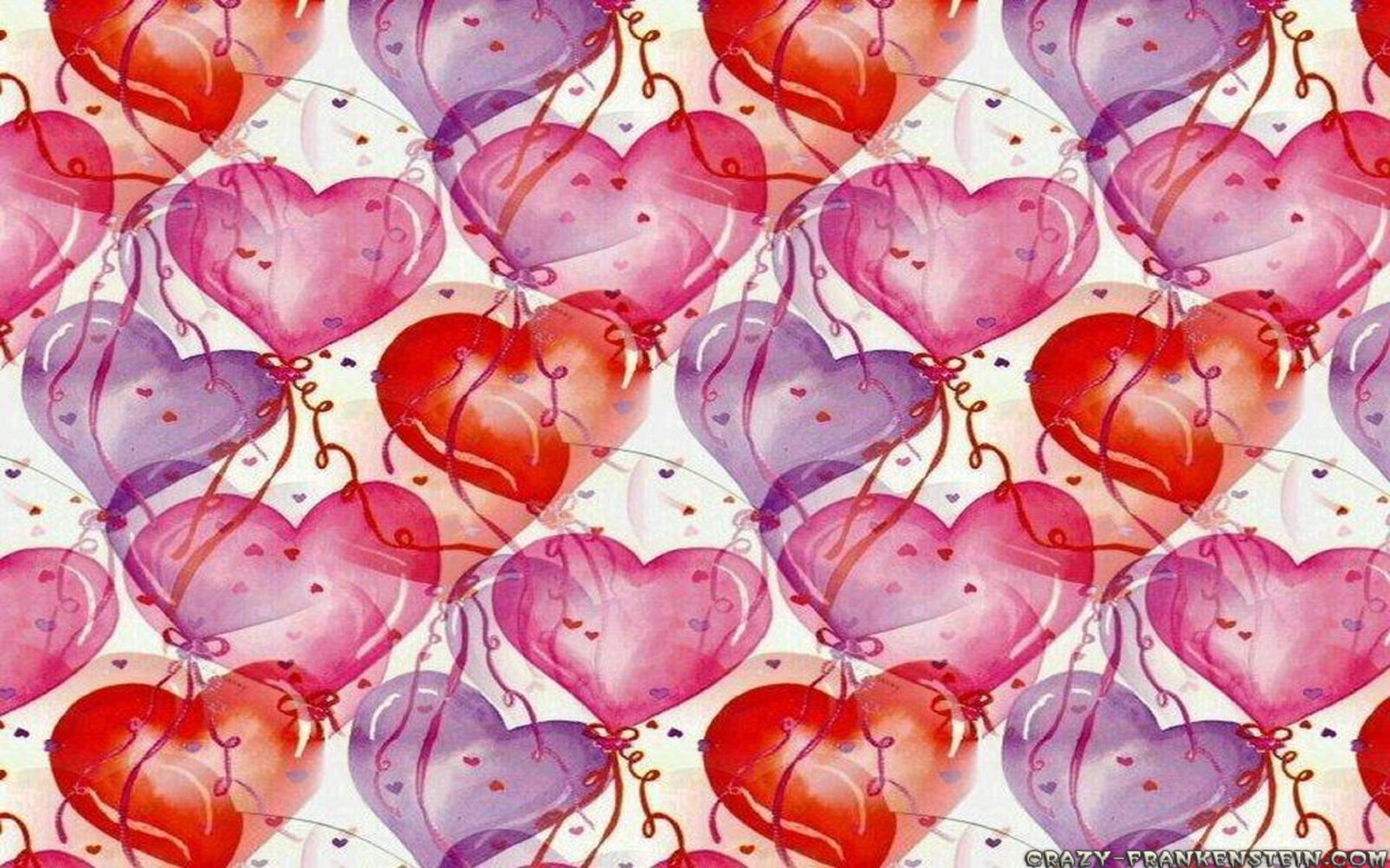 desktop wallpaper valentine heart balloons -#main