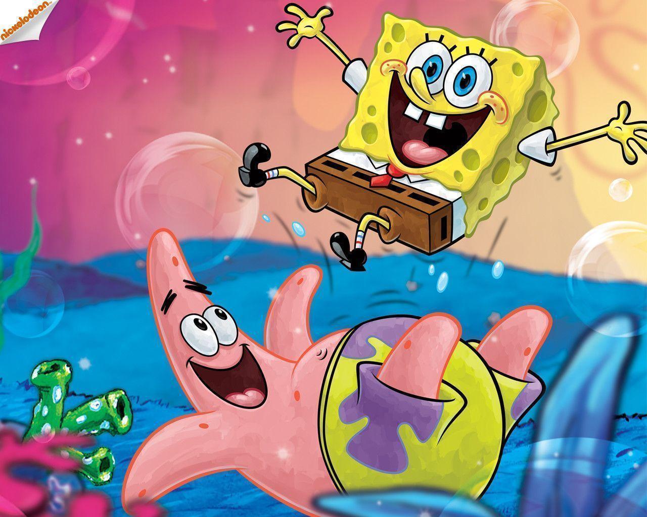 Spongebob Squarepants Zoom Background 9