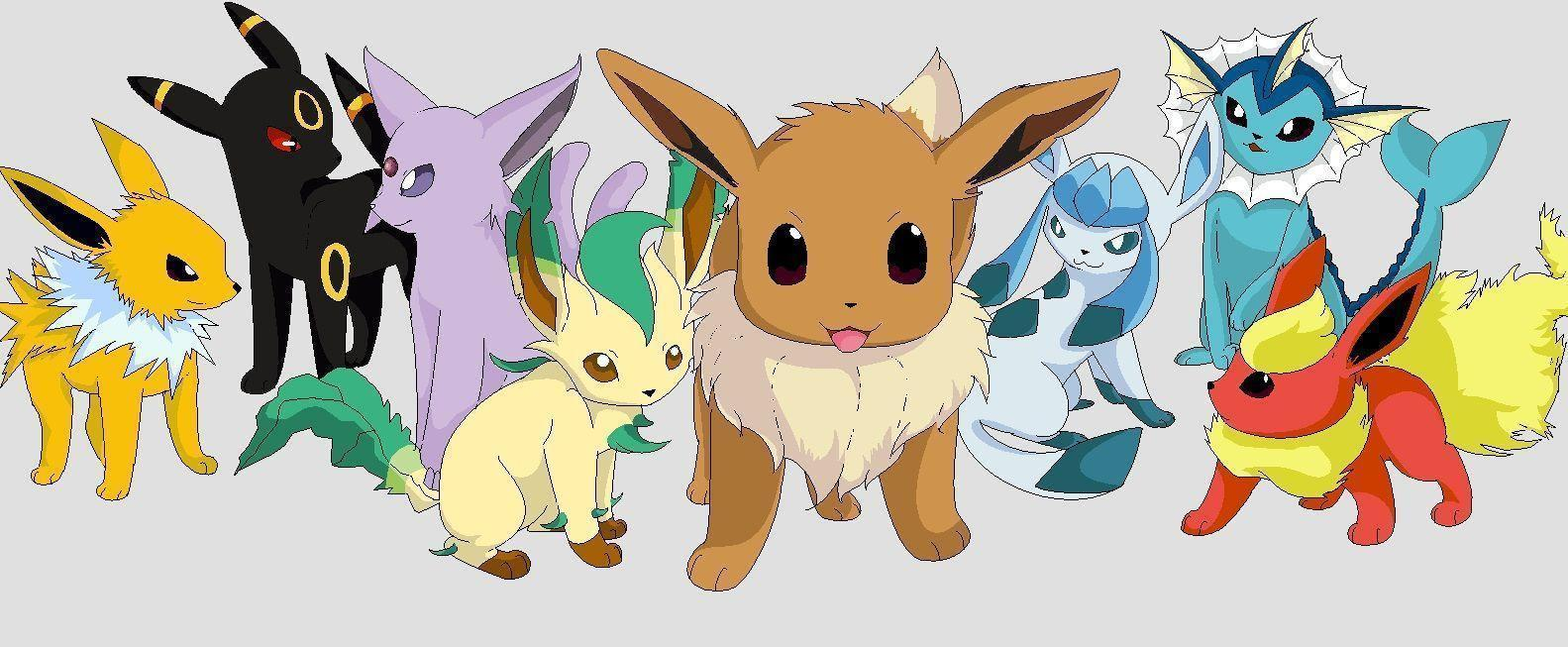 Image For > Eevee Evolution Wallpapers