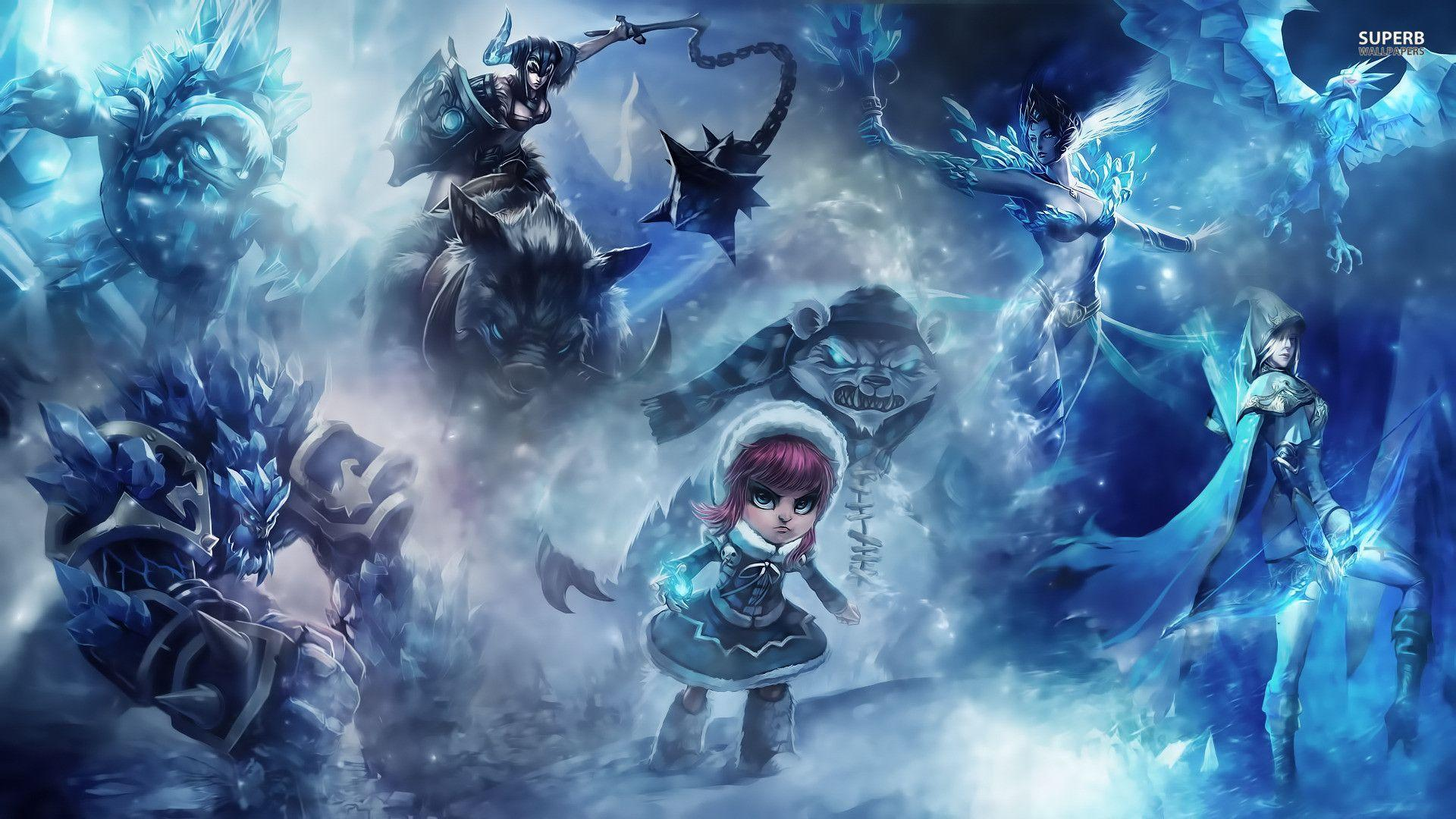 League Of Legends 1920x1080 Wallpapers - Full HD wallpaper search .