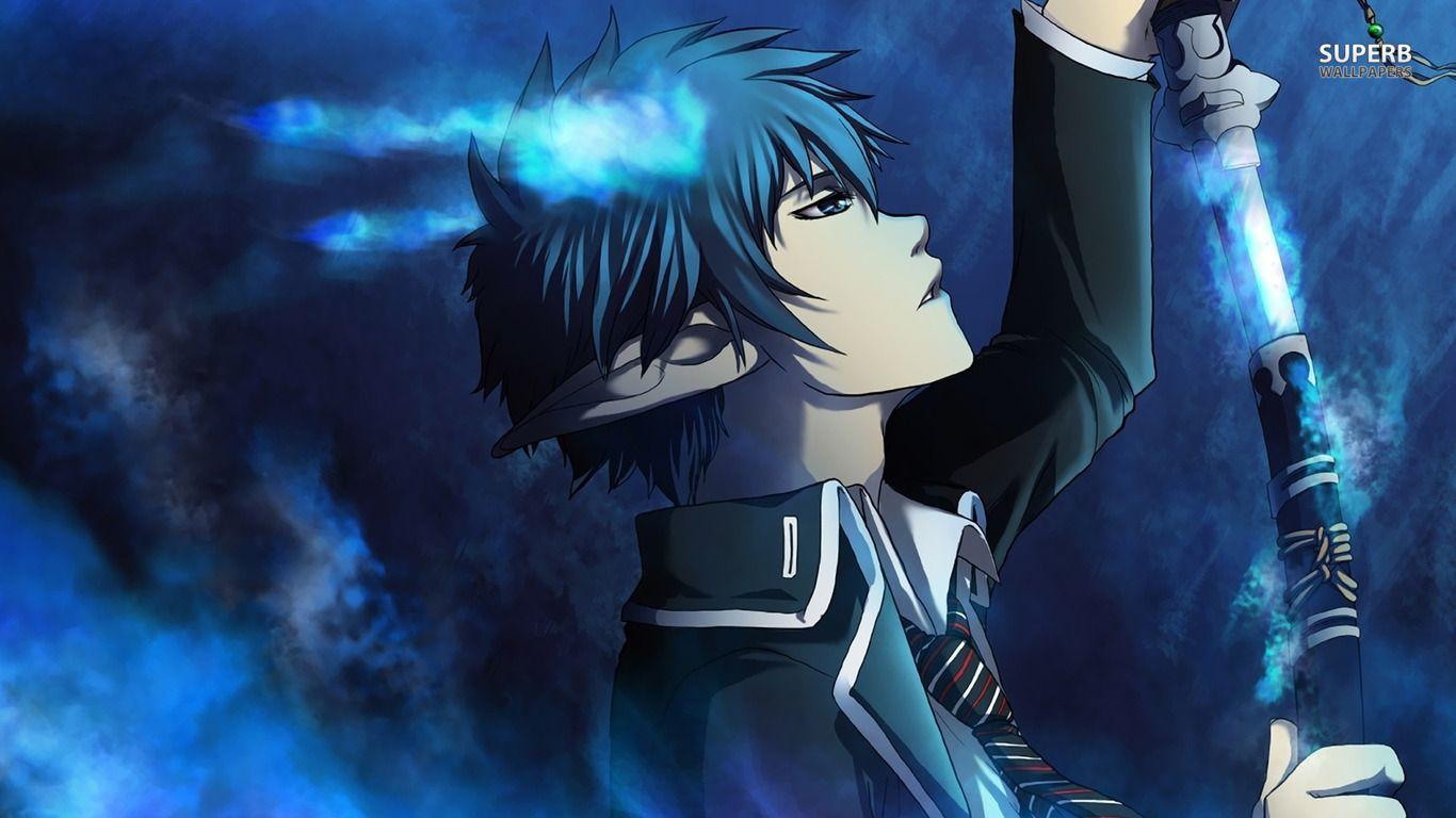 epic blue exorcist wallpaper - photo #16