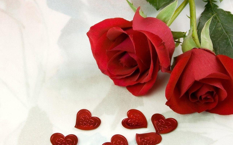 Free Valentine Roses Widescreen #29740 Wallpaper | Risewall.