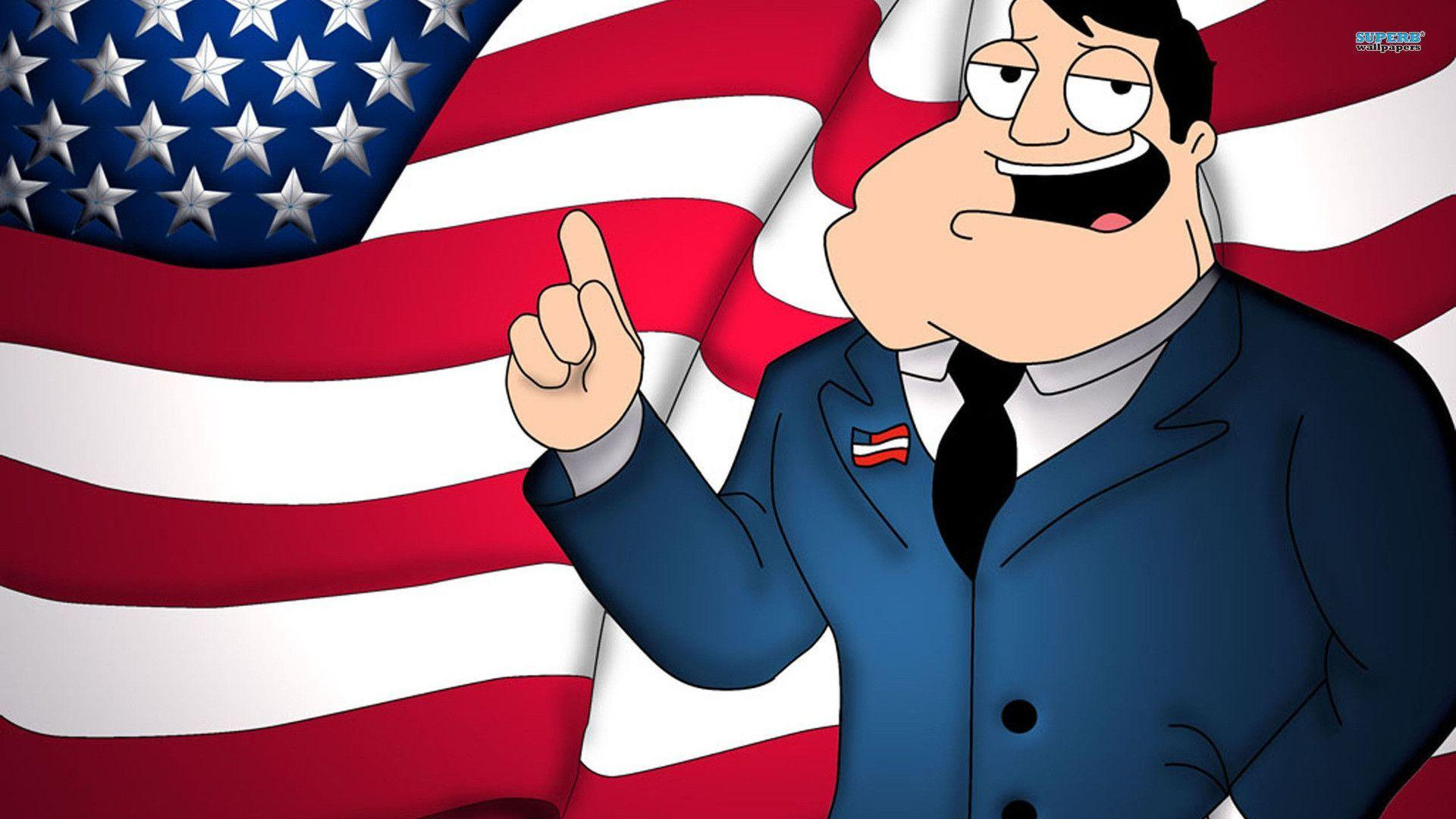Stan Smith - American Dad wallpaper - Cartoon wallpapers - #