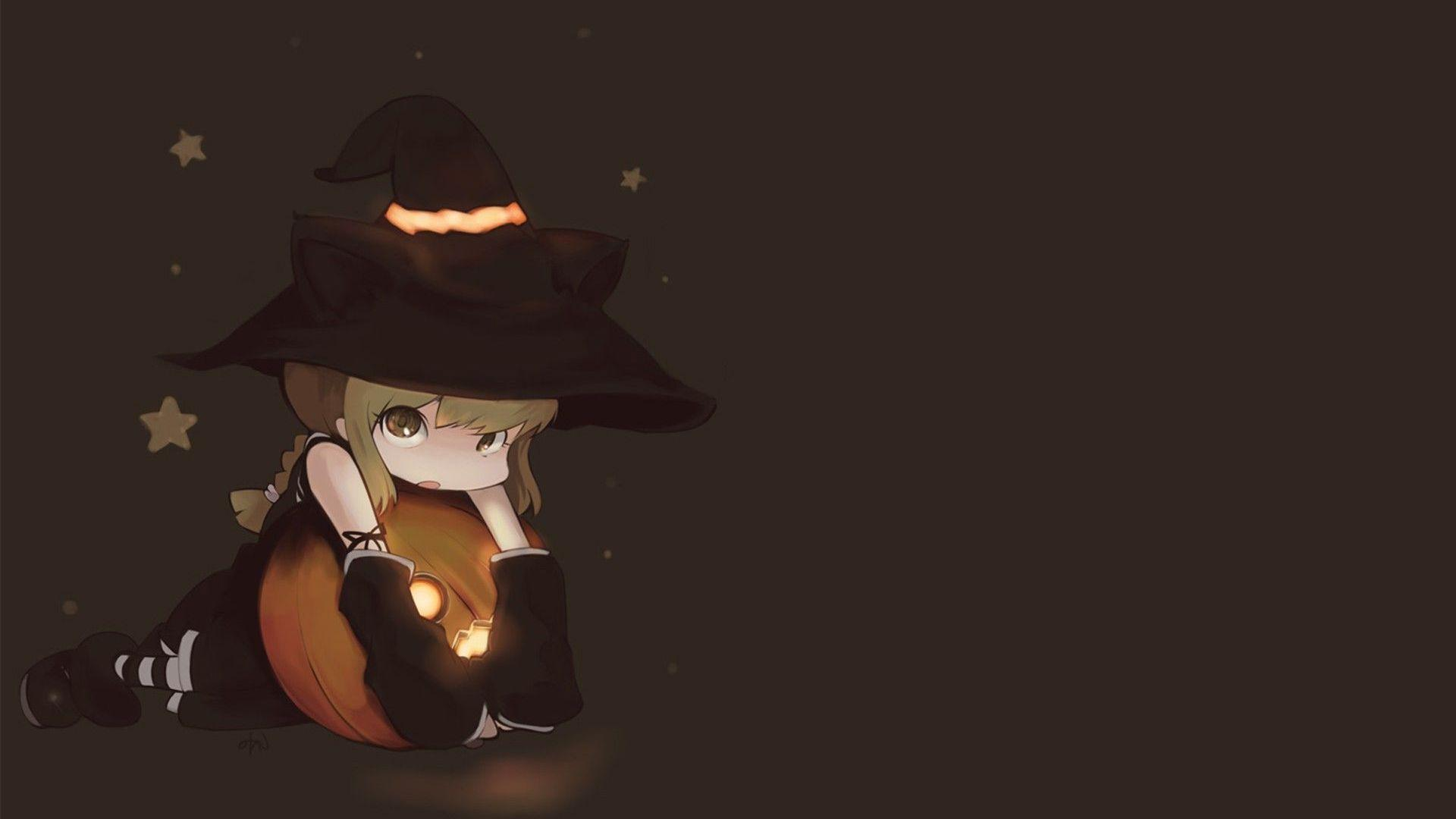 little witch wallpaper