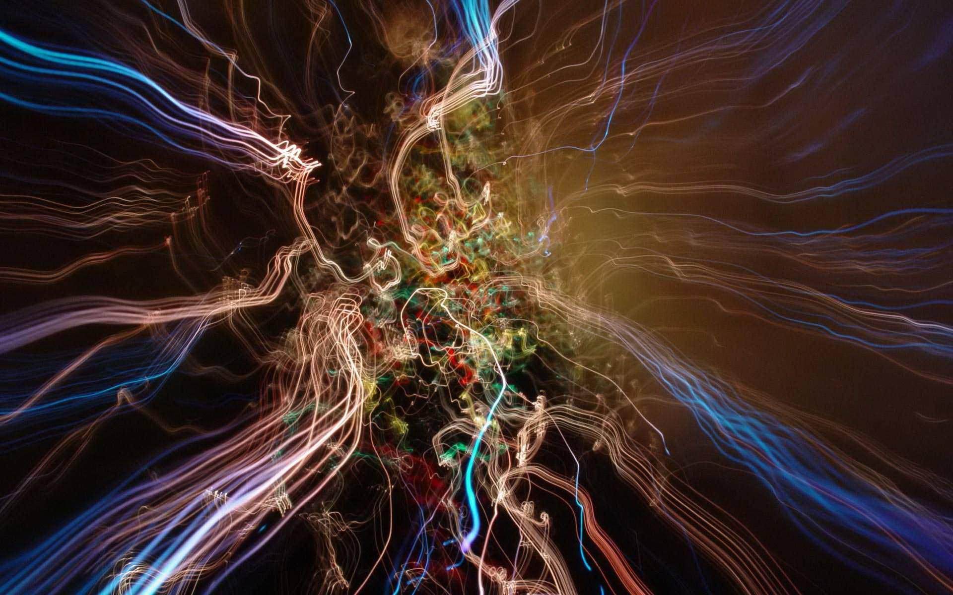 Desktop Wallpaper · Gallery · Computers · Dancing Fireflies | Free ...
