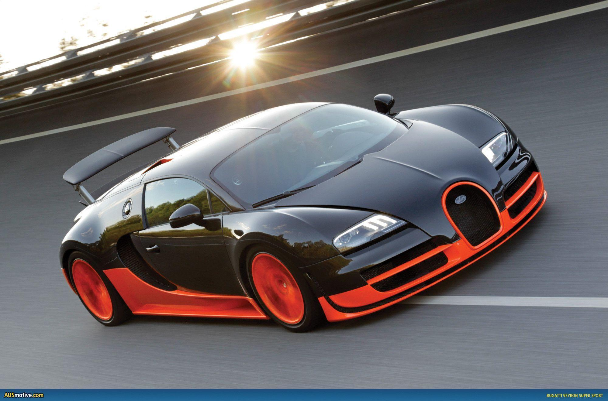 Orange Bugatti Wallpaper For Desktop