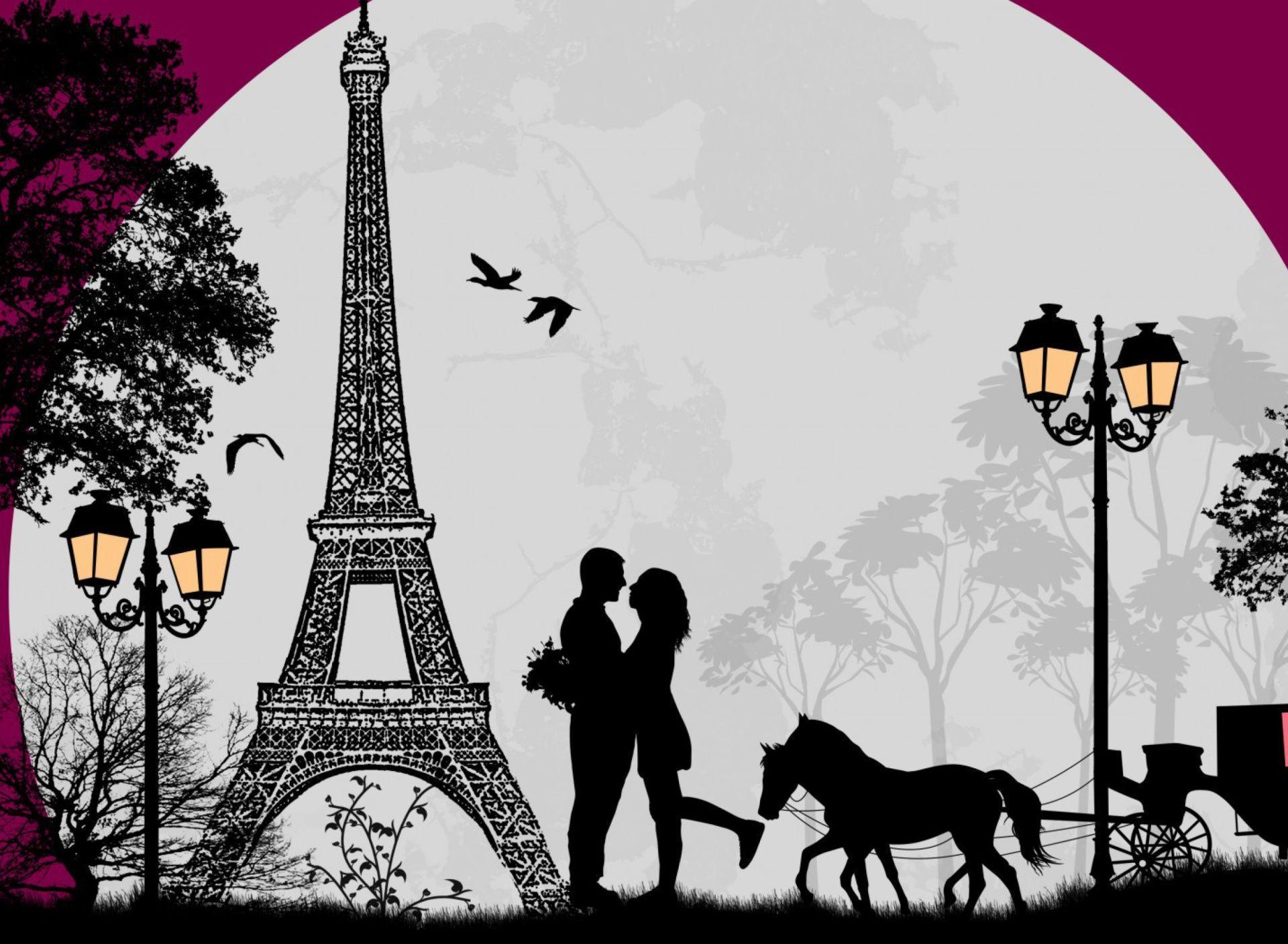 Wallpaper download paris - Valentines Day In Paris Wallpaper Wide Or Hd Digital Art Wallpapers