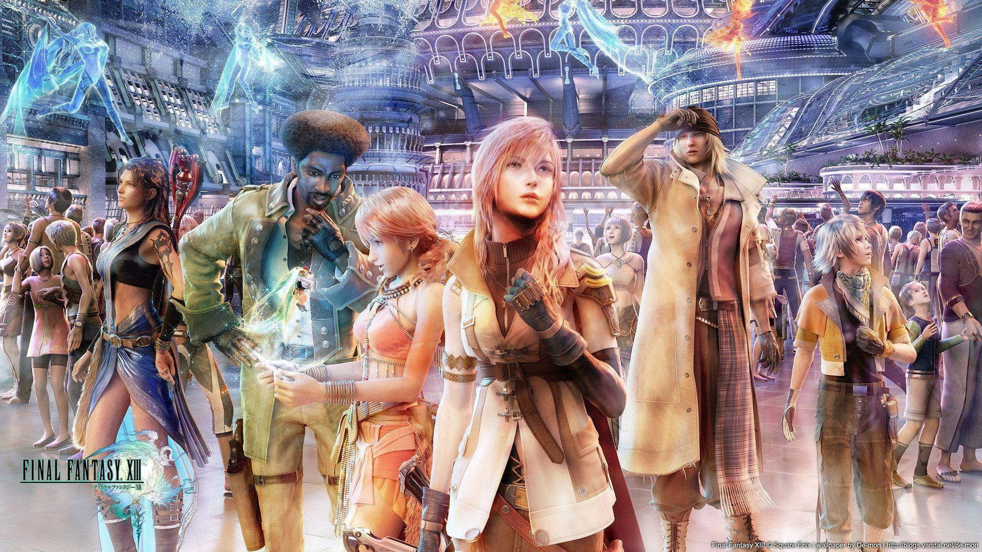 Hd Wallpapers 57 Final Fantasy Xiii Wallpapers Hd Wallpapers Car Pictures