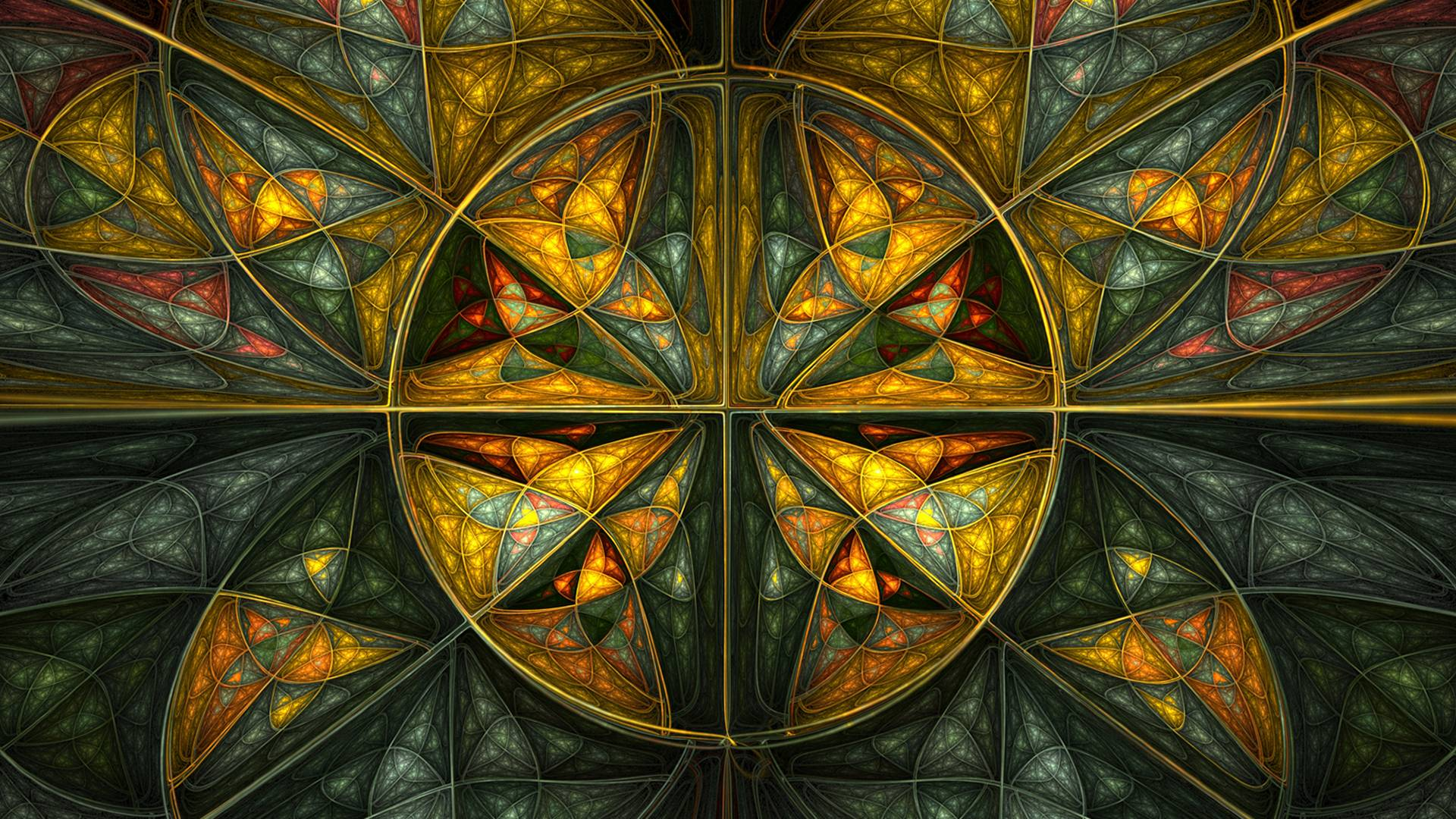 beautiful stained glass wallpaper - photo #21