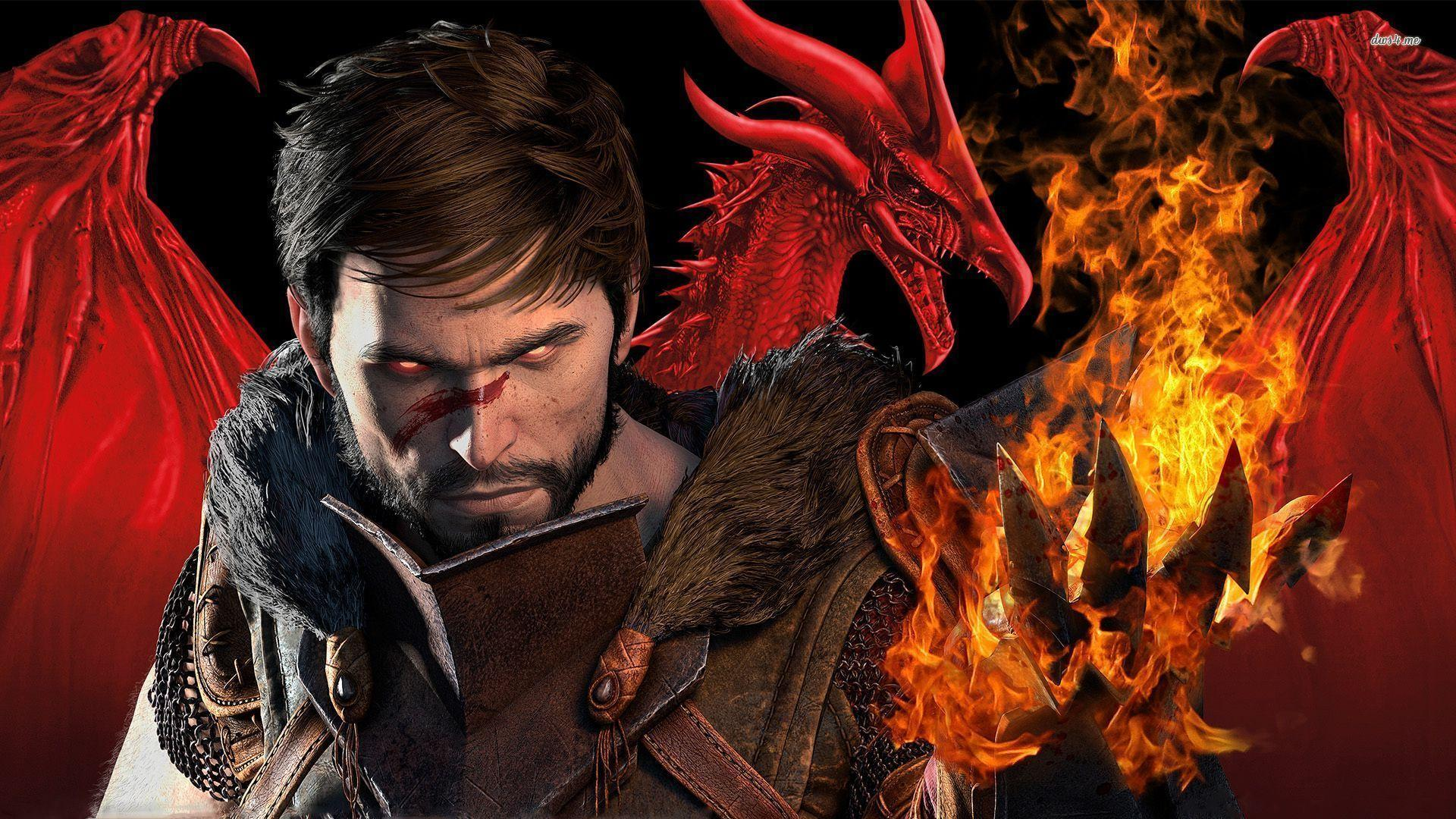 Dragon Age 2 Fire HD Wallpapers