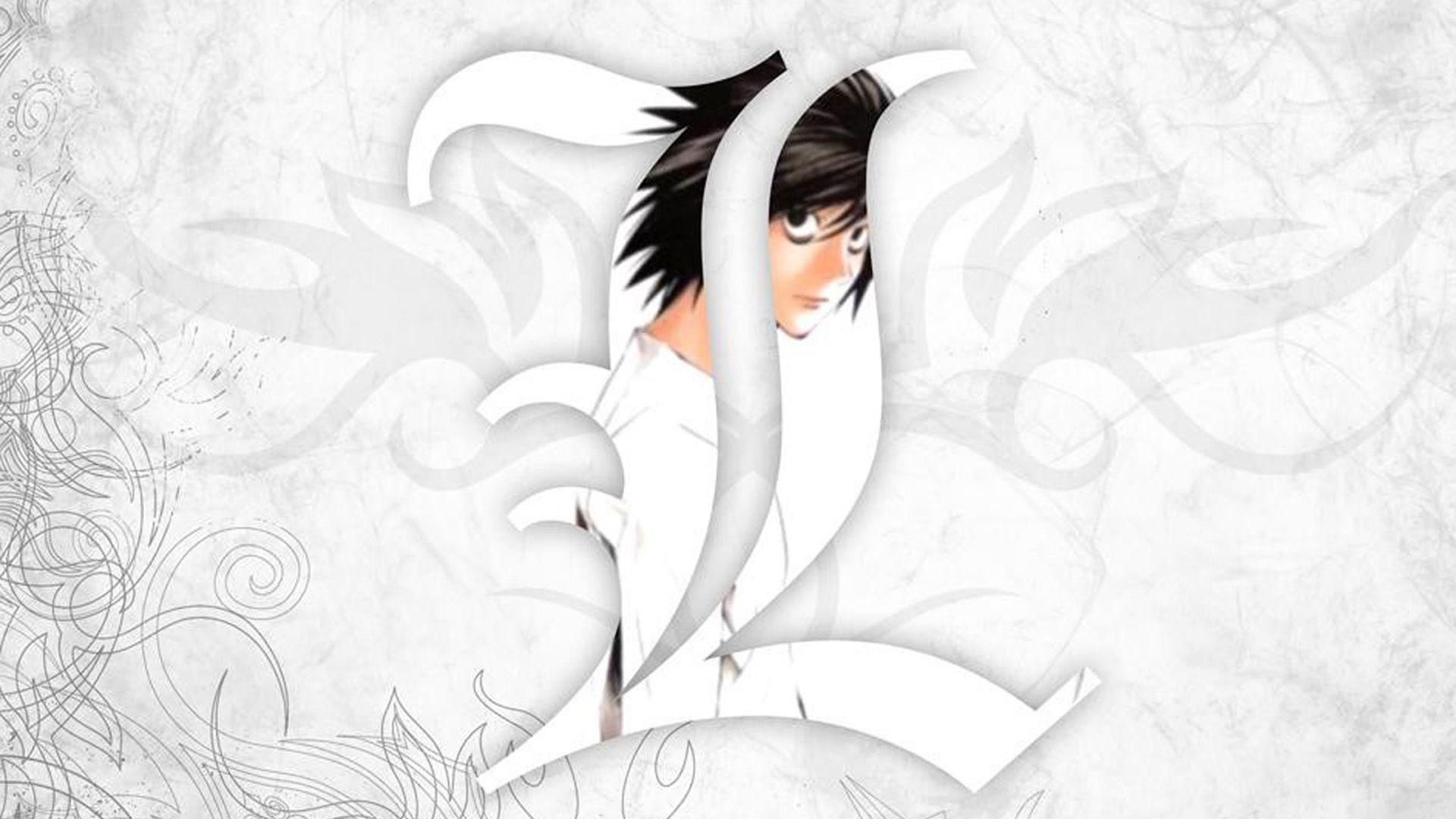 Death Note L Wallpapers Wallpaper Cave