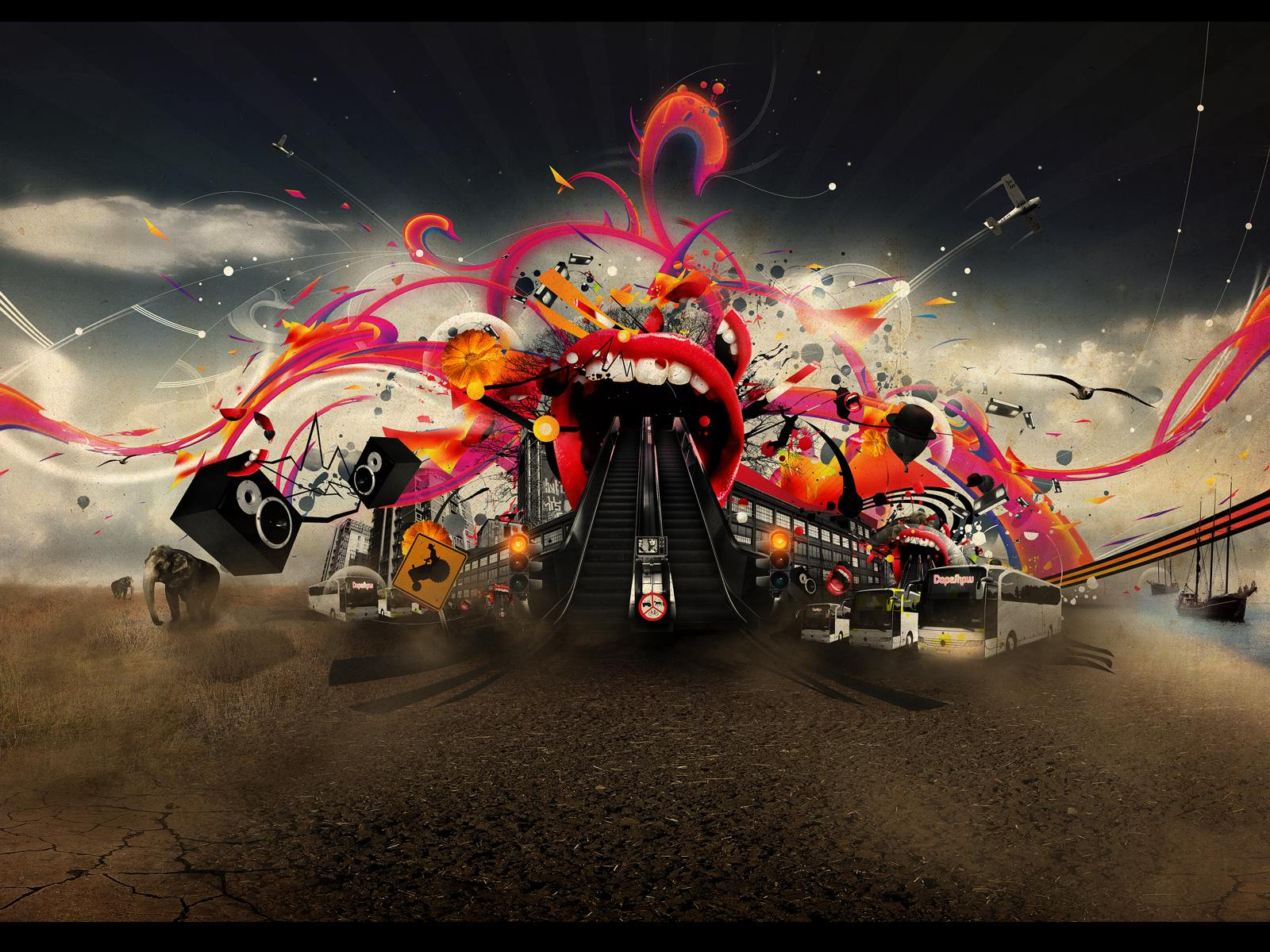 Crazy Background Pictures