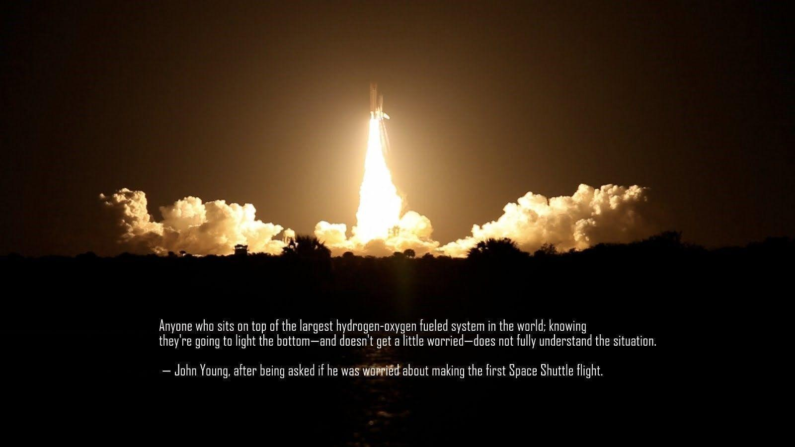 Space Shuttle Launch Wallpapers