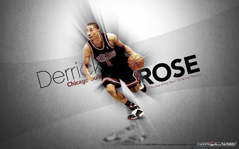 derrick rose logo wallpapers wallpaper cave