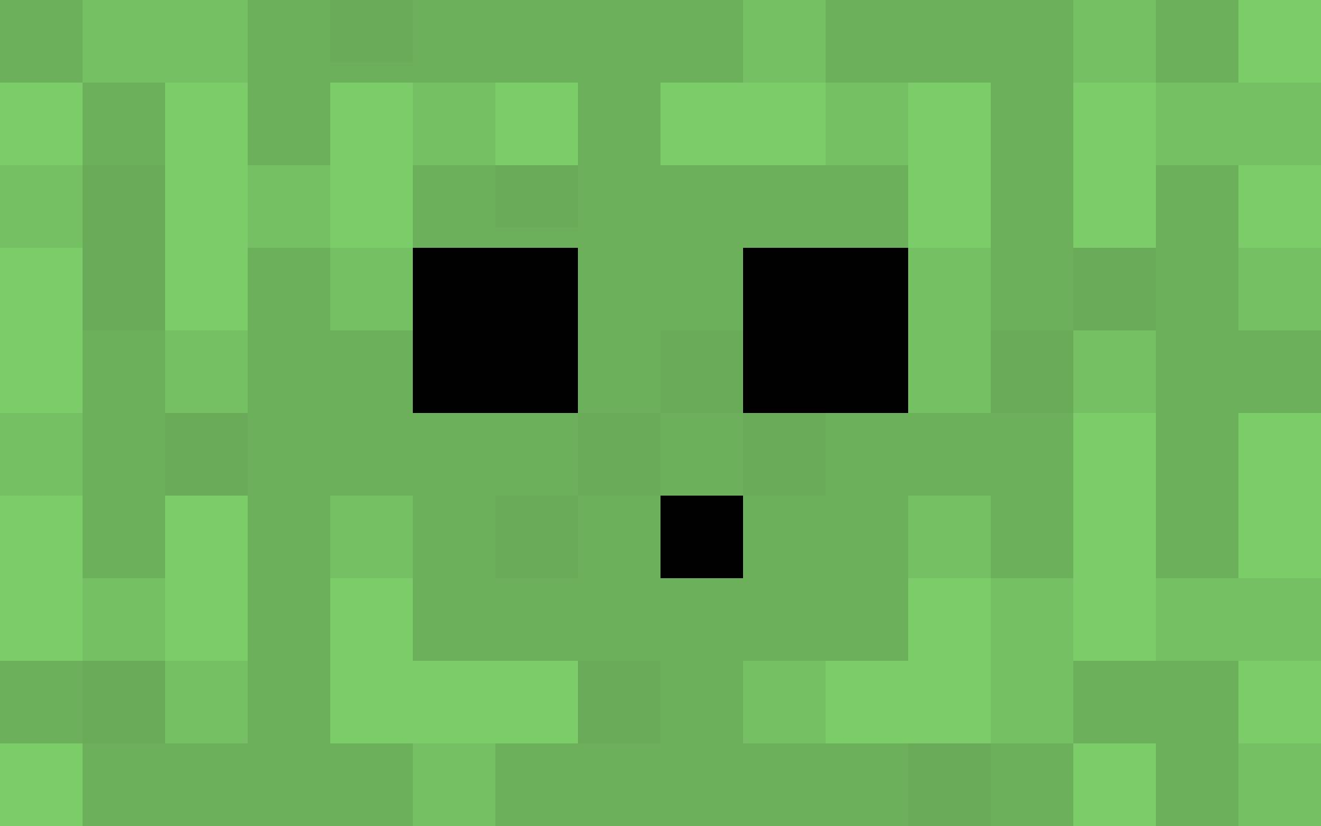 Creeper Wallpaper - Minecraft Wallpaper