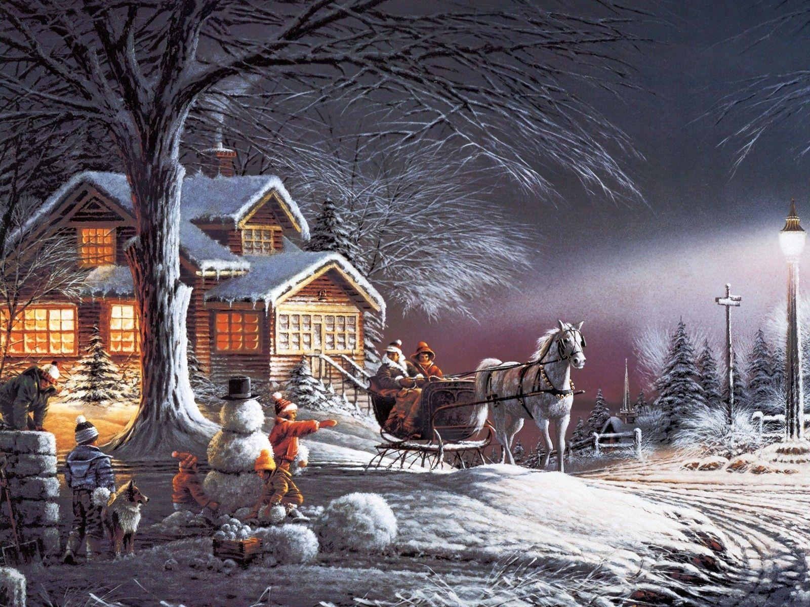 3d winter scenes wallpaper - photo #34
