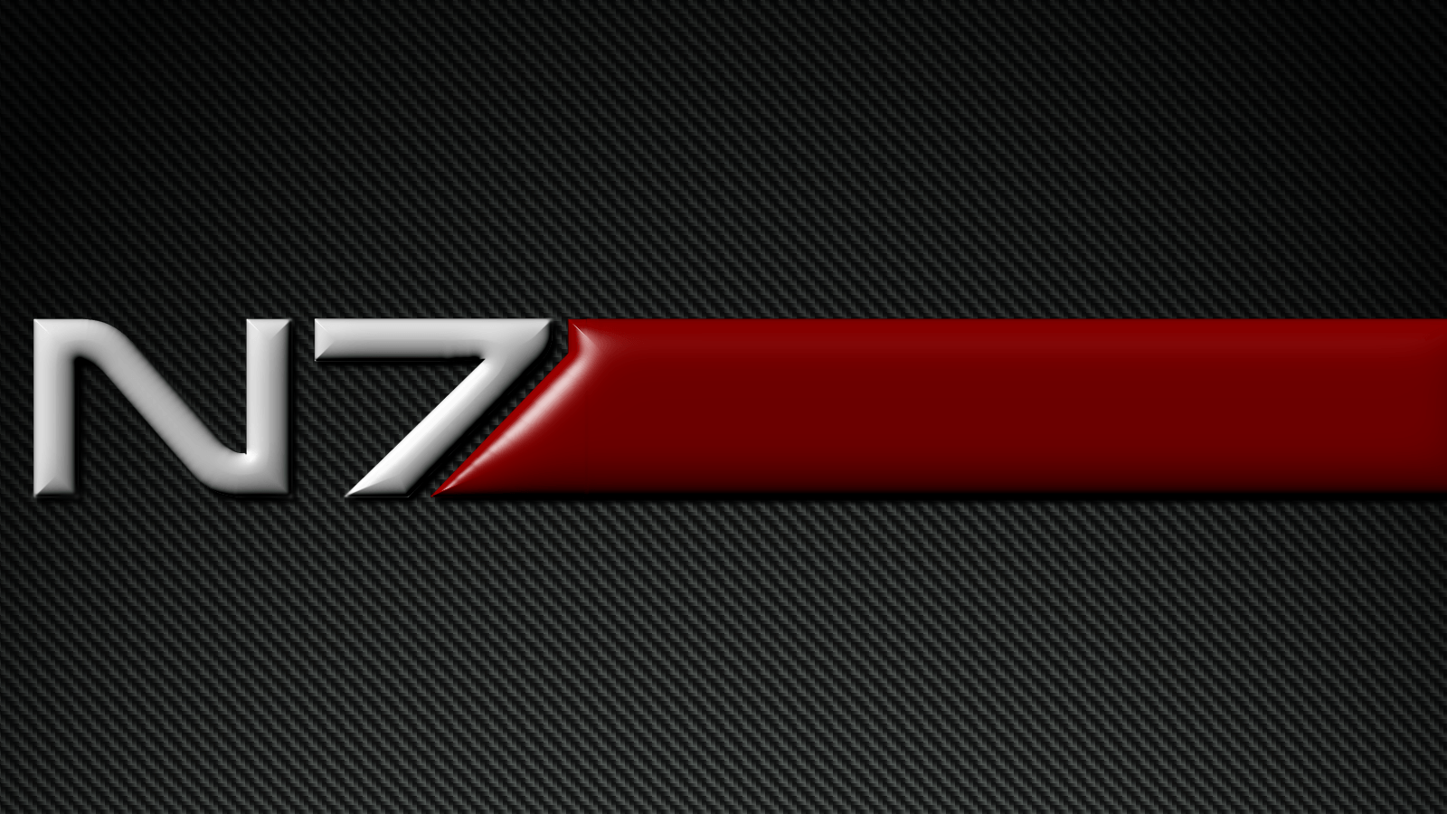 Mass Effect N7 Carbon Fiber Wallpapers by Zurganus