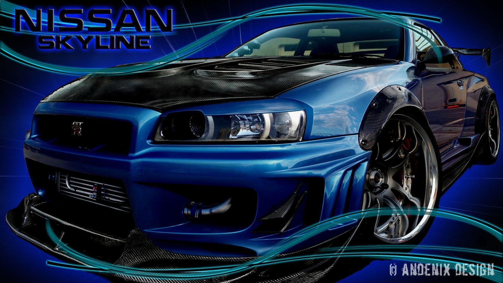 Nissan Skyline Wallpapers by Andenix