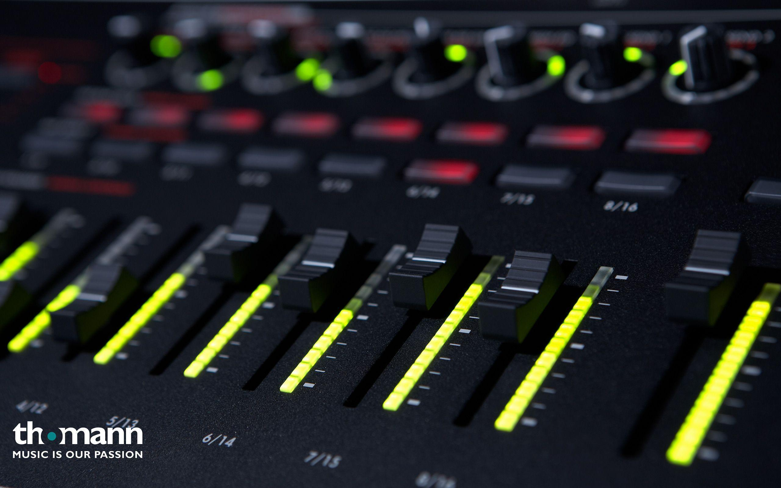 Electronic Music Production Wallpaper