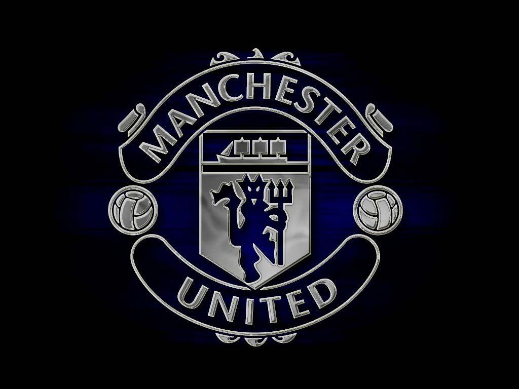 Manchester United Logo Reflection Wallpapers Wallpapers