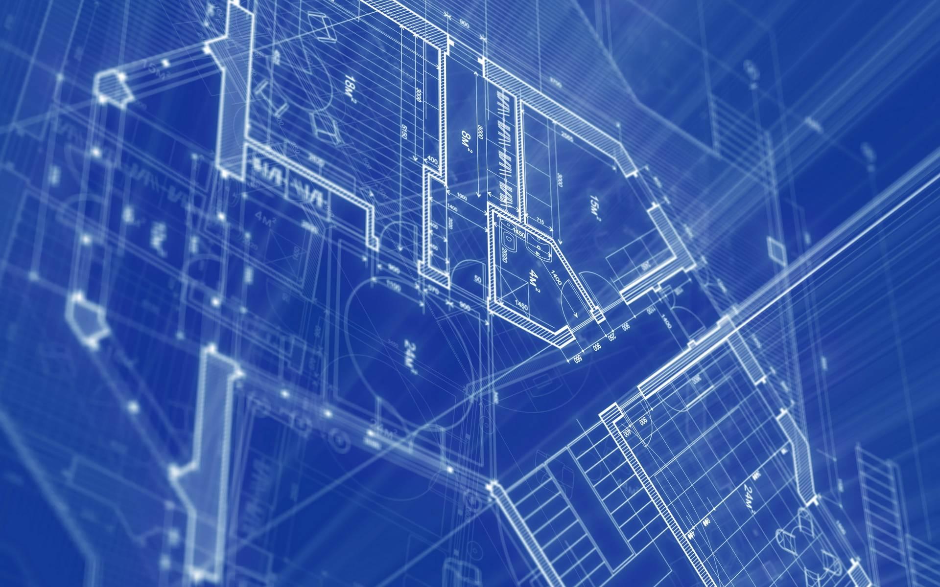 blueprint architecture hd widescreen desktop wallpaper high