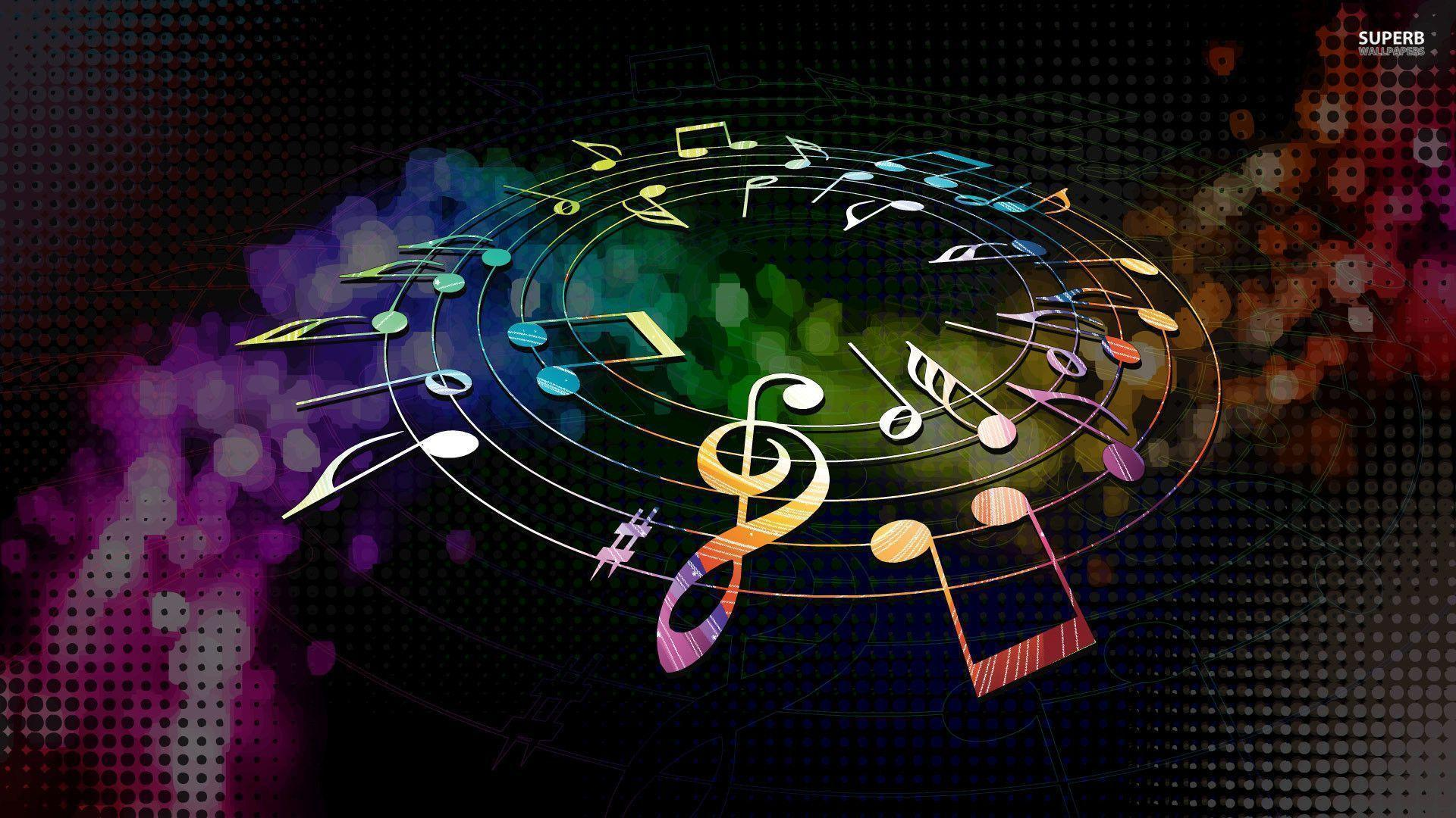 Music note wallpapers wallpaper cave - Wallpaper 1920x1080 music ...