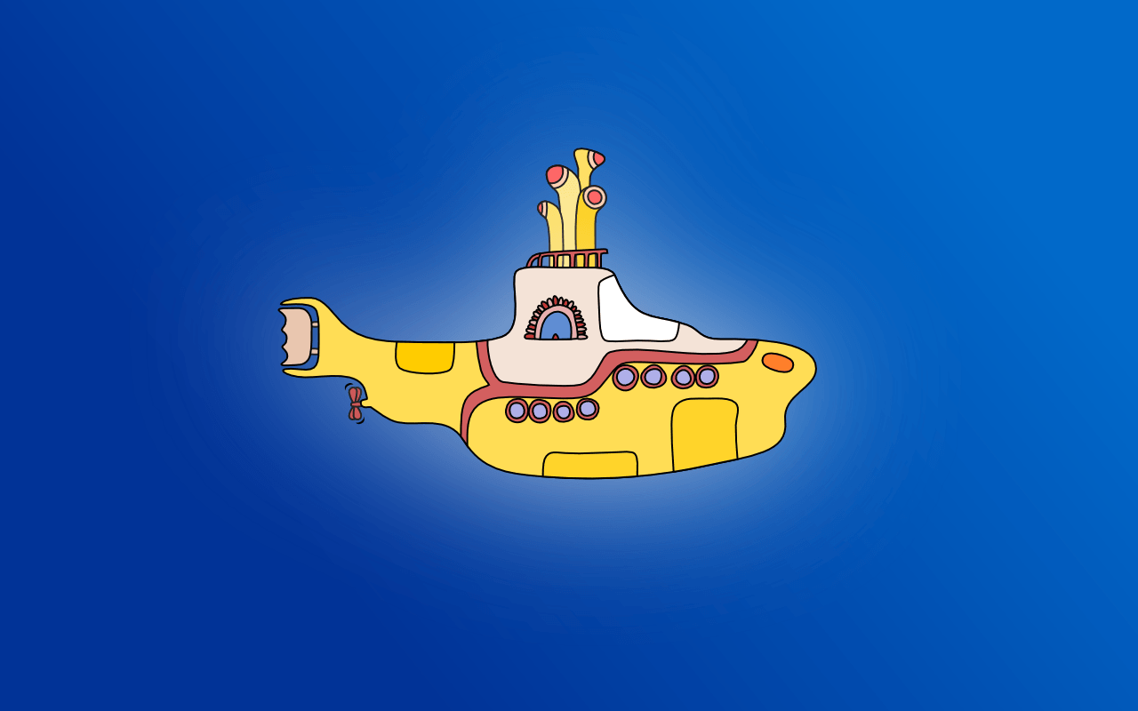 yellow submarine backgrounds