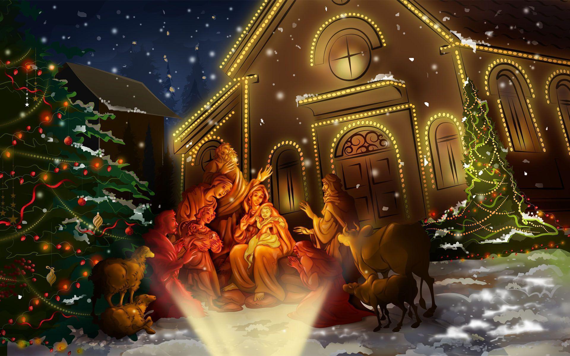 celebrating jesus birth wallpapers hd wallpapers