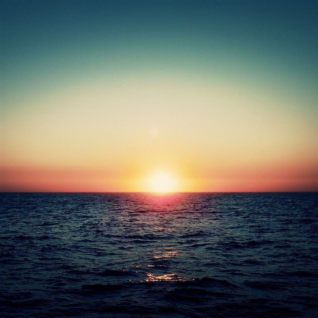 Ocean sunset wallpapers wallpaper cave for Amazing wallpaper for tab