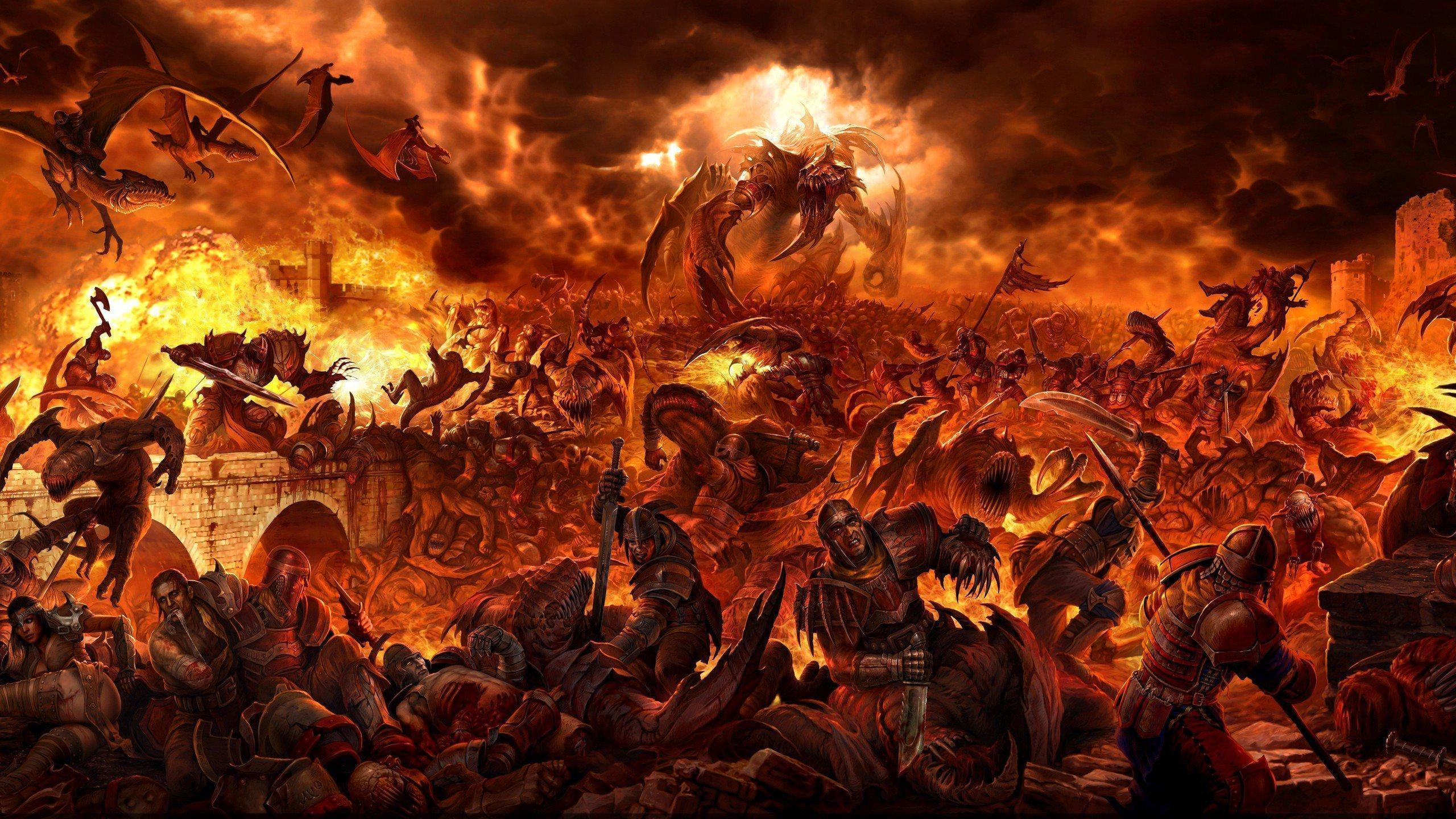 Heaven and <b>Hell HD Wallpaper</b> - WallpaperSafari