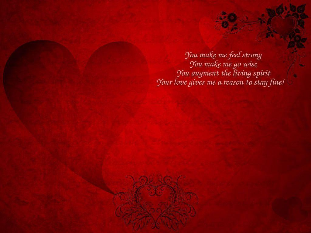 wallpaper with love message - photo #43