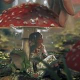 Mushroom Girl Wallpapers