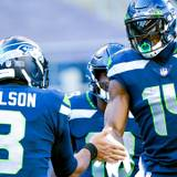 Dk Metcalf And Russell Wilson Wallpapers