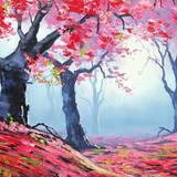 Autumn Season Drawings Wallpapers