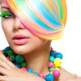 4k Coloured Hair Wallpapers
