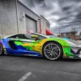 Colorful Lamborghini Wallpapers