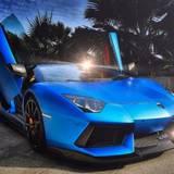 Blue Lamborghini Wallpapers
