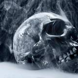Smoking Skull Wallpapers