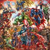 Marvel And DC Superheroes And Supervillains Wallpapers