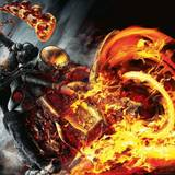 Flaming Motorcycle Wallpapers