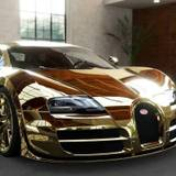 Gold Bugatti Wallpapers