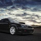Subaru Wrx Silver Tuning Wallpaper