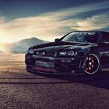 Car Wallpapers For PC Nissan Skyline Drift