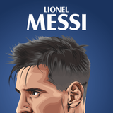 Messi Cartoon Wallpapers