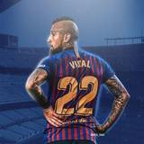 Arturo Vidal Barcelona Wallpapers