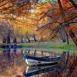 Autumn Boats Wallpapers