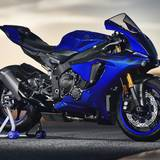 Blue Motorcycles Wallpapers