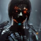 Anime Cyborg Girl Wallpapers